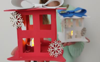 Lanterna natalizia fai da te